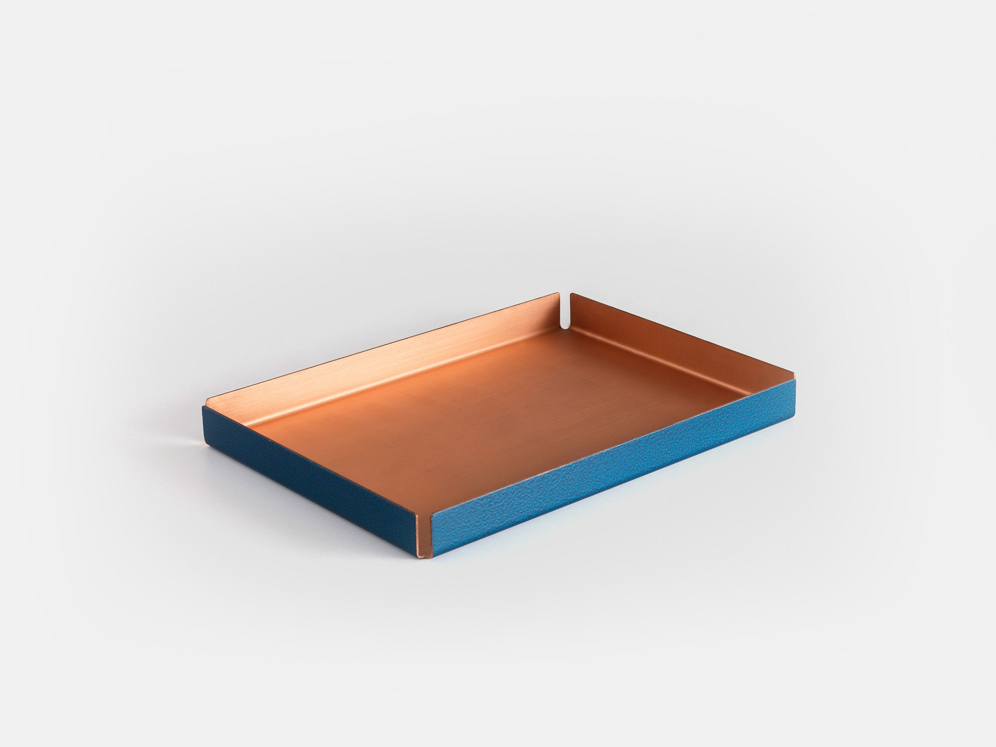Other Kingdom - Medium Hammertone Tray - Copper Serving Tray
