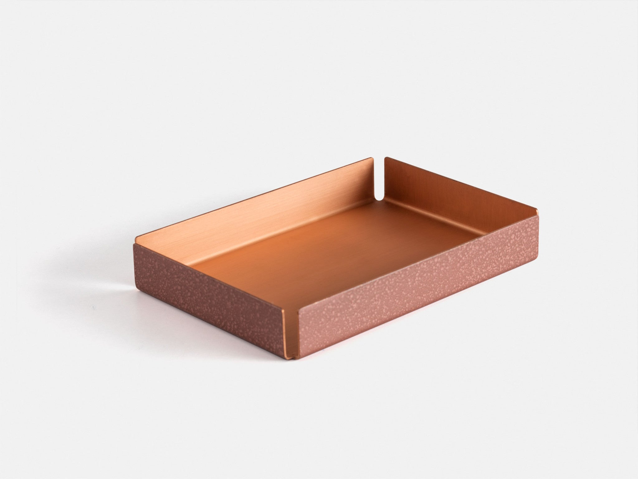 Other Kingdom - Small Hammertone Tray - Copper Serving Tray