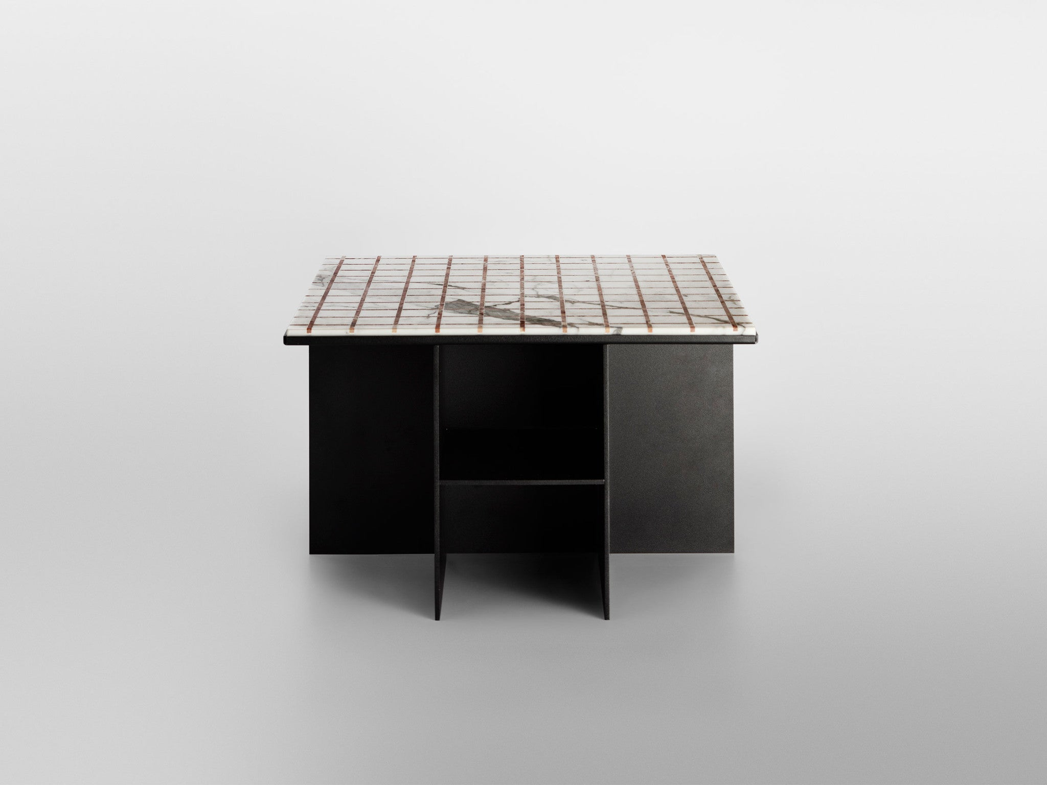 Other Kingdom - Uniform Coffee Table - Marble Inlay Coffee Table