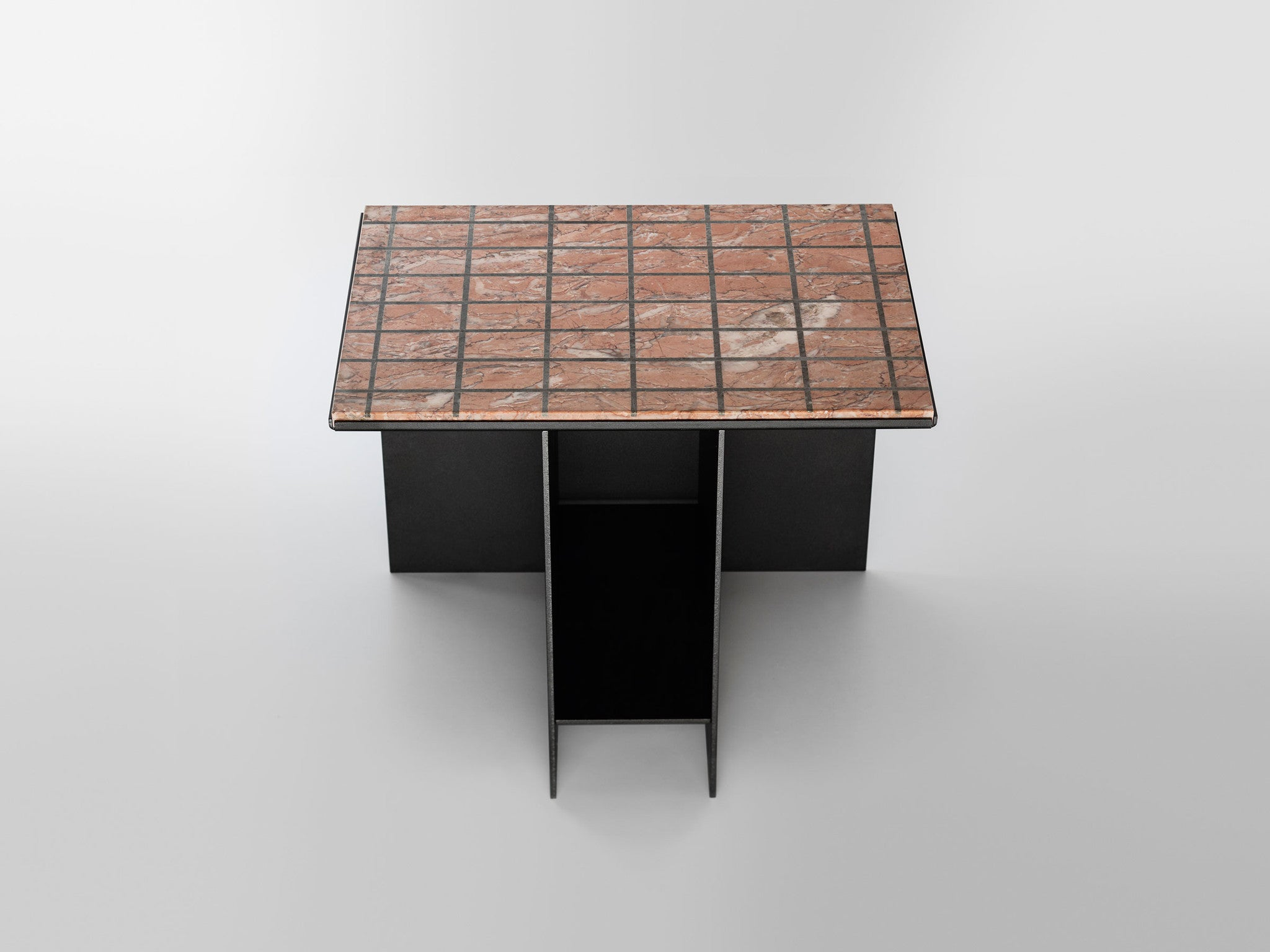 Other Kingdom - Uniform Side Table - Marble Inlay Side Table