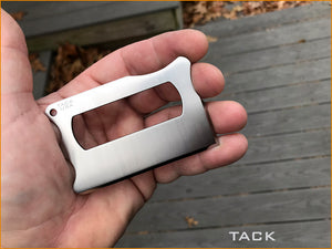 TACK - Titanium Wallet Knife ..  Pre-Order Only