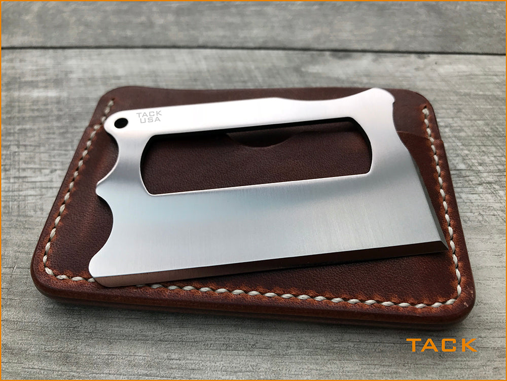 TACK - Titanium Wallet Knife ..  Pre-Order Only (See Link)