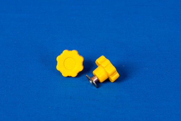Supa Peg Yellow Easy Grip Wheel & T-nut