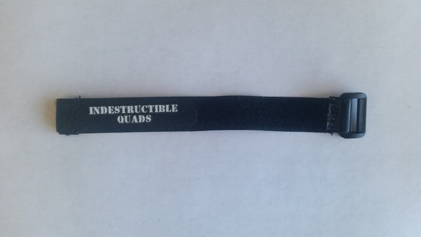 Indestructible Quads silicone coated battery strap