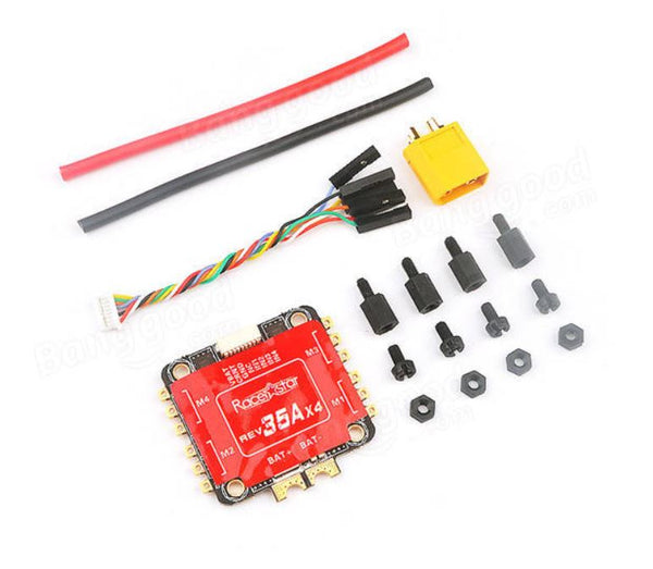 Racerstar 35A DSHOT 3-6S 4 In 1 ESC Built-in Current Sensor