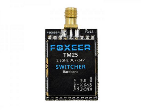 Foxeer Switcher TM25 25/200/600mw Power Adjustable 5.8Ghz 40Ch VTX