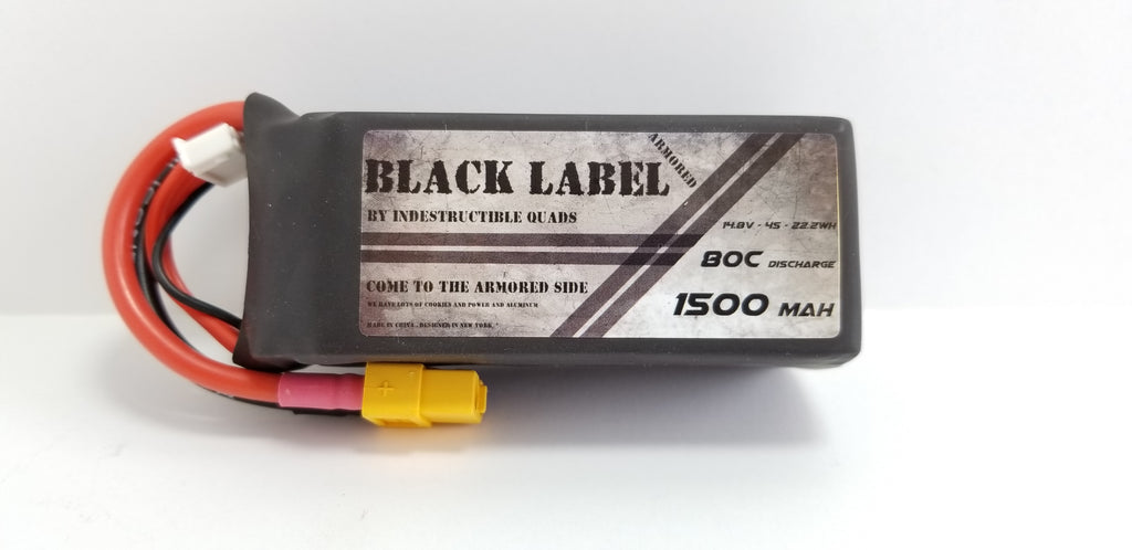 Black Label Armored Edition Racing LiPo