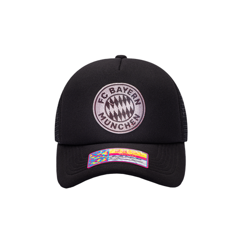 Black Bayern Munich Shield Trucker