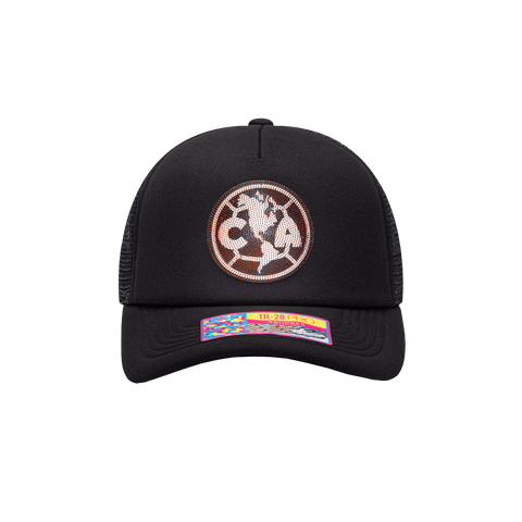 Black Club America Shield Trucker