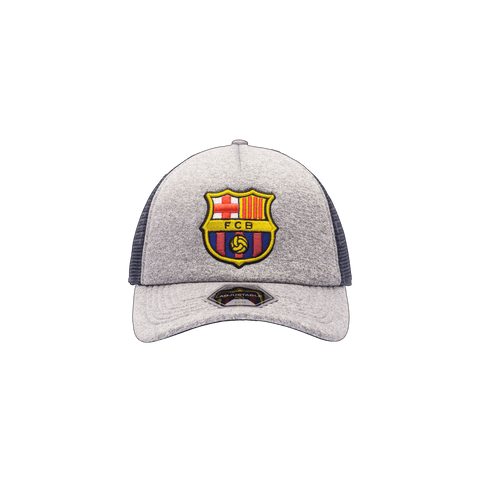 Grey FC Barcelona Grayline Trucker Success