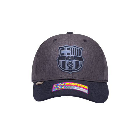 Grey Black FC Barcelona Pitch Adjustable