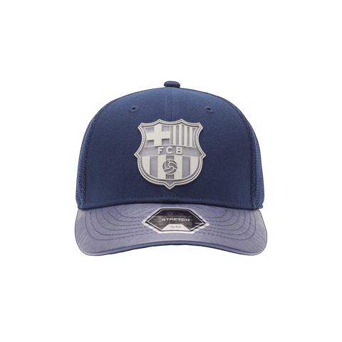Blue FC Barcelona Matador Stretch with grey emblem