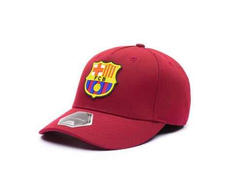 View of left side of FC Barcelona Cult Snapback
