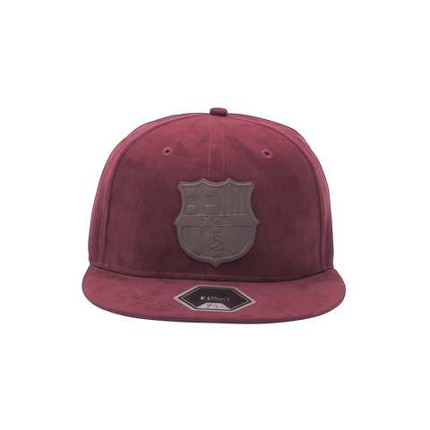 Burgundy FC Barcelona Tifoso Fitted
