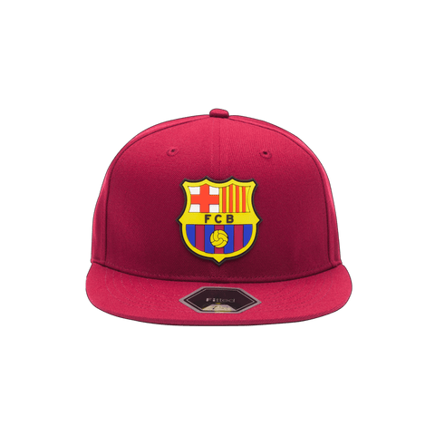 Red FC Barcelona Cult Fitted