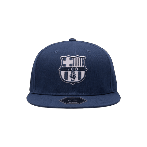 Blue FC Barcelona Braveheart Fitted
