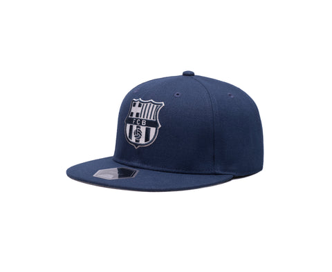 View of left side of FC Barcelona Braveheart Fitted