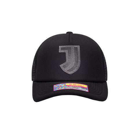 Black Juventus Shield Trucker