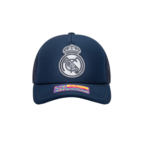 Blue Real Madrid Shield Trucker
