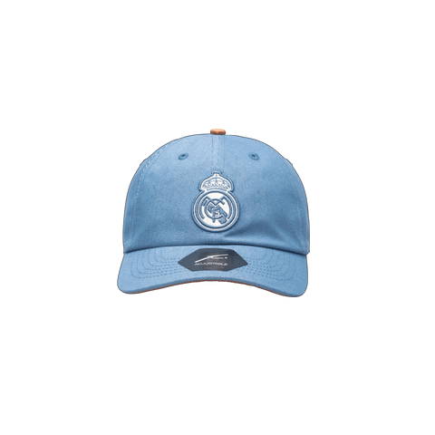 Blue Real Madrid Pegasus Classic with brown button
