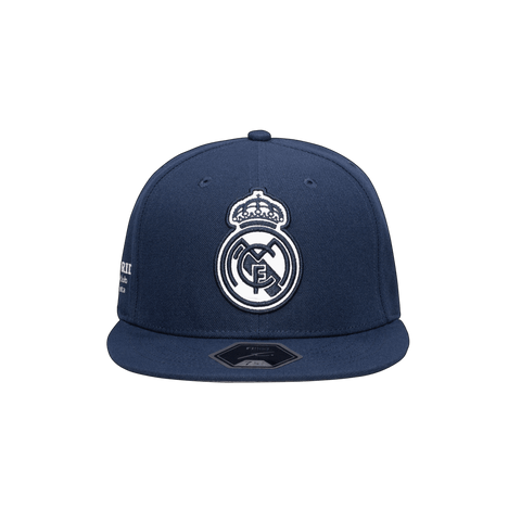 Blue Real Madrid Braveheart Fitted