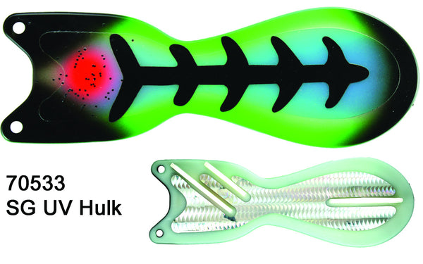 "8"" Hulk UV flasher"