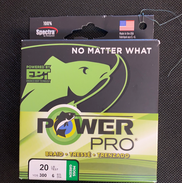 Power Pro 20lb Test Moss Green