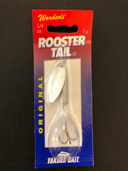 Rooster tail white 1/4oz