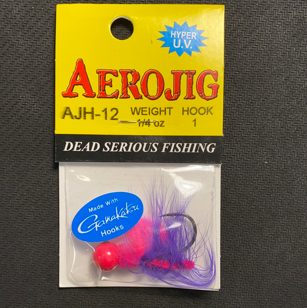 Aero Jig 1/4oz Pink/Purple
