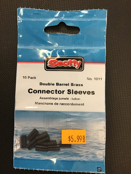 Scotty connector sleeves #1011