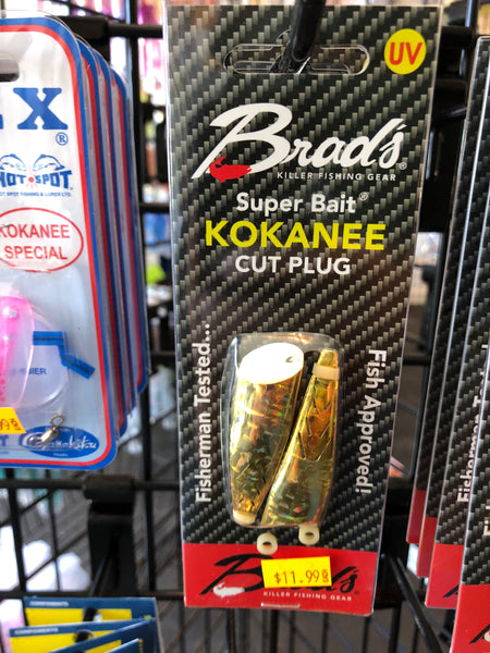 Beads kokanee cutplug (gold rush)