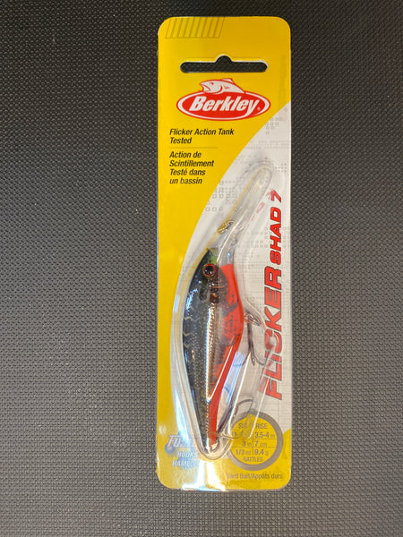Berkley Flicker Shad 7 (red tiger)