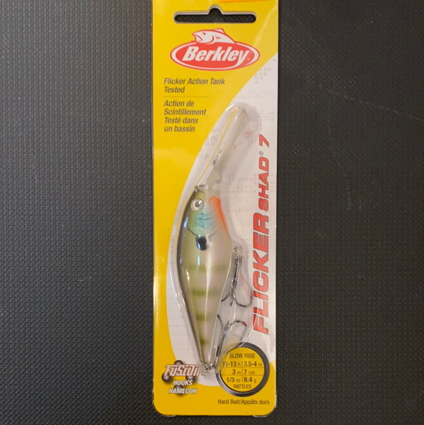 Berkley Flicker Shad 7 (MF bluegill)