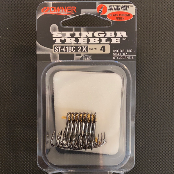 Owner Stinger Treble size 4