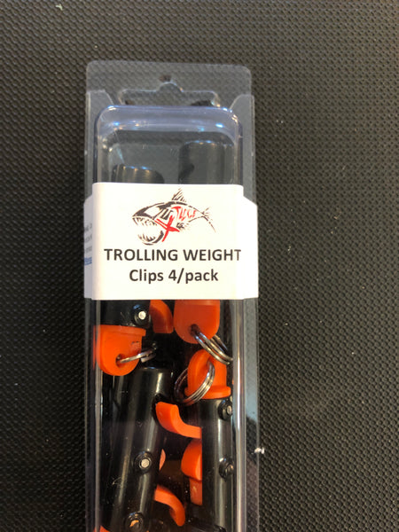 Xtackle Trolling Weight Clips (4pack)