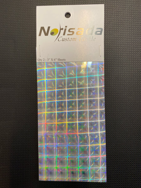 Norisada Custom Tackle Tape (silver plaid)