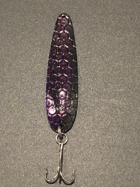 Purple Candy Trolling Spoon