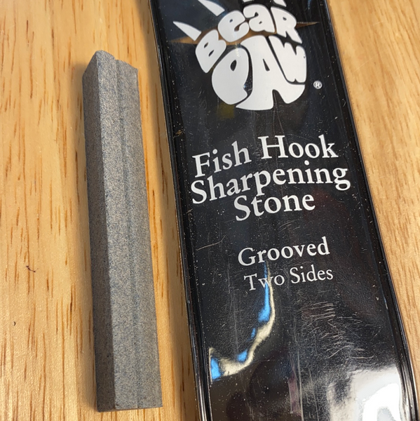 Bear Paw Fish Hook Sharpening Stone
