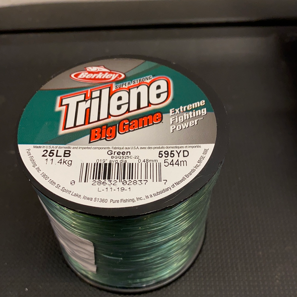 Trilene Big Game 25lb (Green)