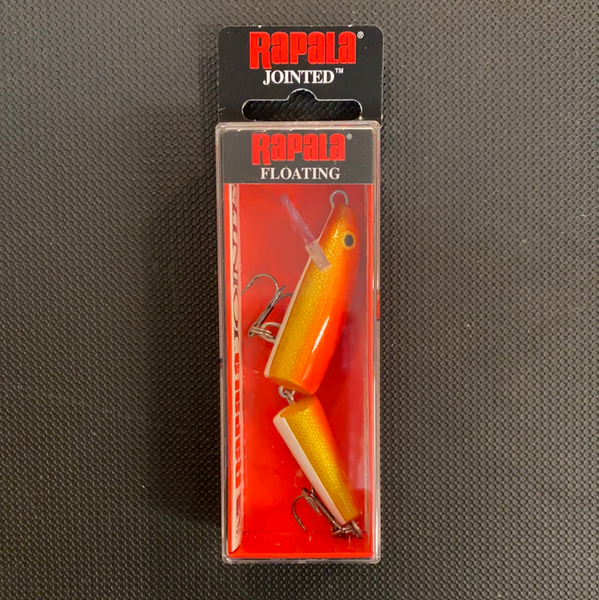 Rapala J-9 Gold fluorescent red