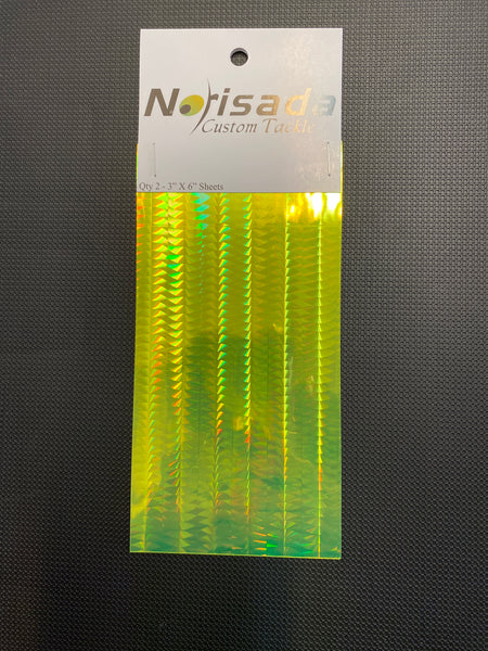 Norisada Custom Tackle Tape (chartreuse sidewinder)