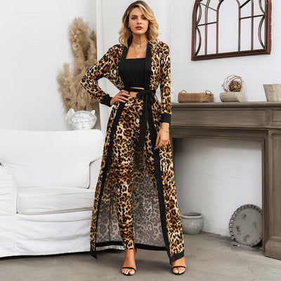 Leopard Pants 3 pc Set
