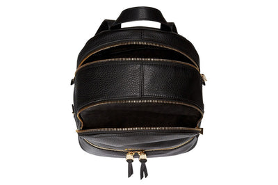 Michael Kors Rhea Zip Small Backpack - Black - SimplyMorgans Boutique