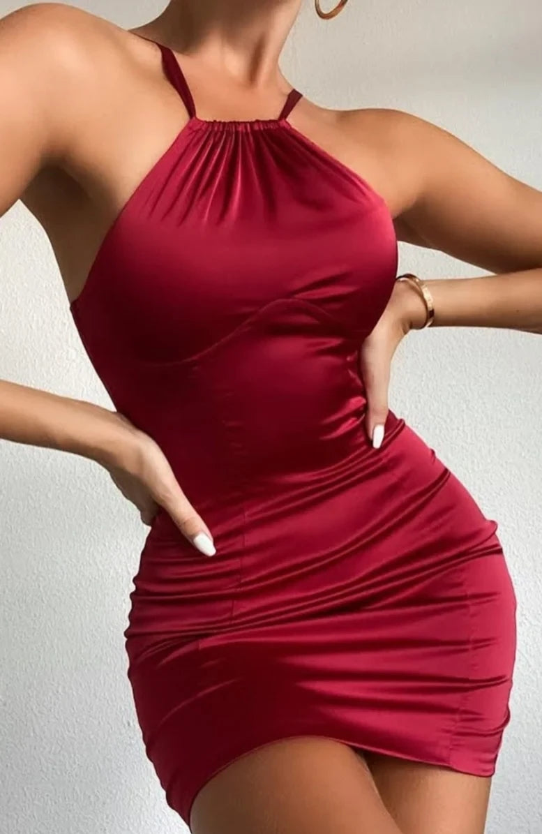 Fitting Strappy Party Dress