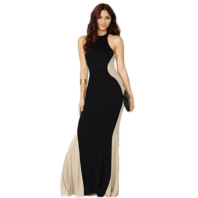 Elegant Plus size women clothing Floor-Length Elegant dress - SimplyMorgans Boutique