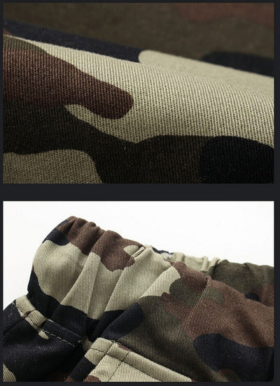 Camouflage Military Jogger Pants