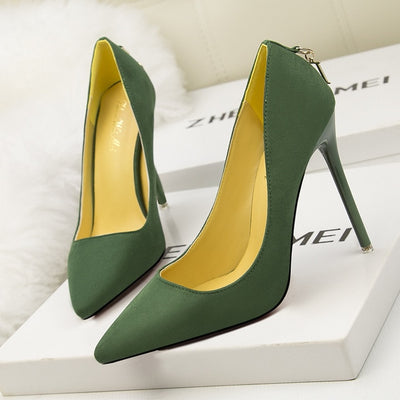 Sexy Party High Heels Pumps Ladies 2020 Fashion Pointed Toe Women's Shoes Thin Heels Pumps Wedding Shoes Woman Pumps