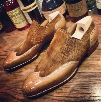 Men Pu Leather Shoes - SimplyMorgans, - Clothing