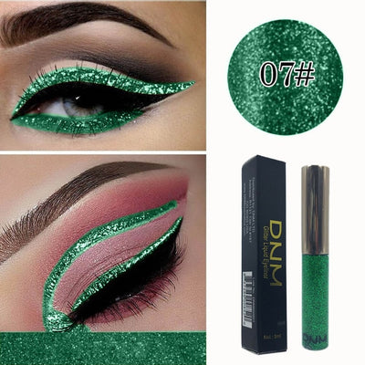 Watewaterproof Eyeshadow Glitter Liquid Eyeliner Metallic