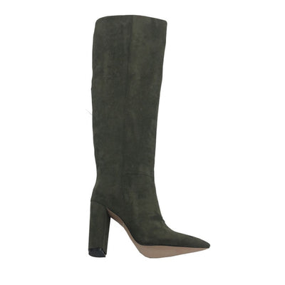 Faux Suede Over The Knee High boots
